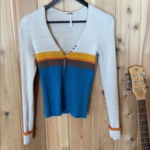 Free People knit thermal
